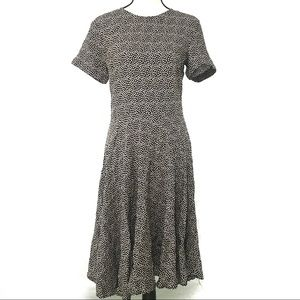 H&M Polka Dot Midi Dress size 10